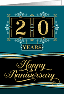 Happy 20th Work Anniversary Images : happy, anniversary, images, Employee, Anniversary, Cards, Greeting, Universe