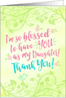 Thank You Daughter Quotes : thank, daughter, quotes, Thank, Cards, Daughter, Greeting, Universe