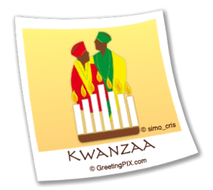 Stix. Kwanzaa Couple