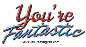 GreetingPIx.com_Greeting Words Positive Phrases_You're Fantastic