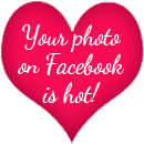 Your photo on Facebook is hot