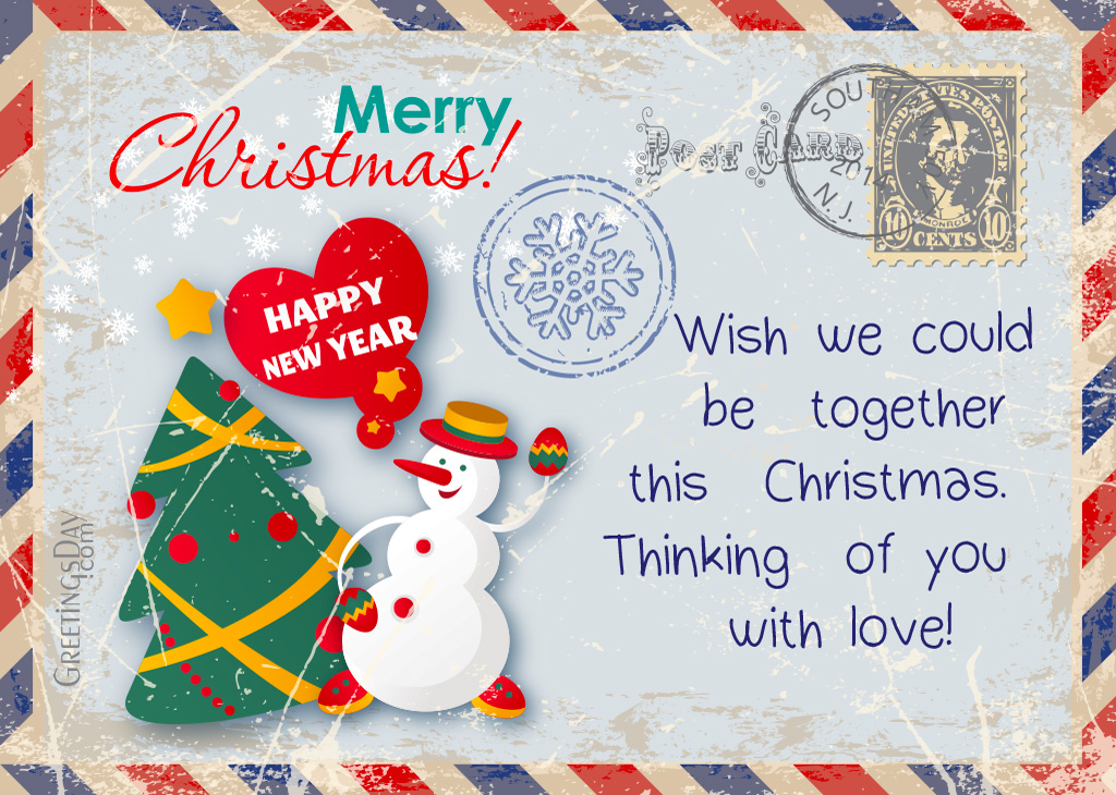 20 Christmas Greeting Cards For Boyfriend Girlfriend Husband Or Wife Daily ECards Pictures
