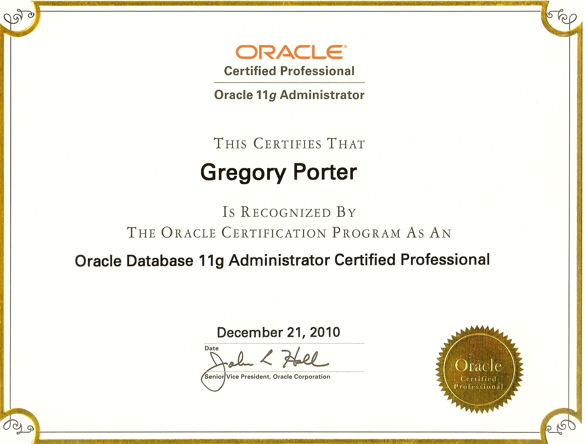 Oca Oracle Database 11g Administration I Exam Guide Pdf
