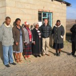 Ngoana Jesu staff in 2005: Matlali, Albertina, 'Malimpho, Principal Tsita, Greg, 'Masamuel, Lemphane