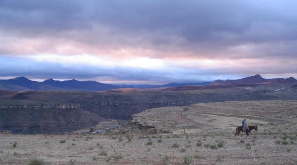 Winter in Lesotho