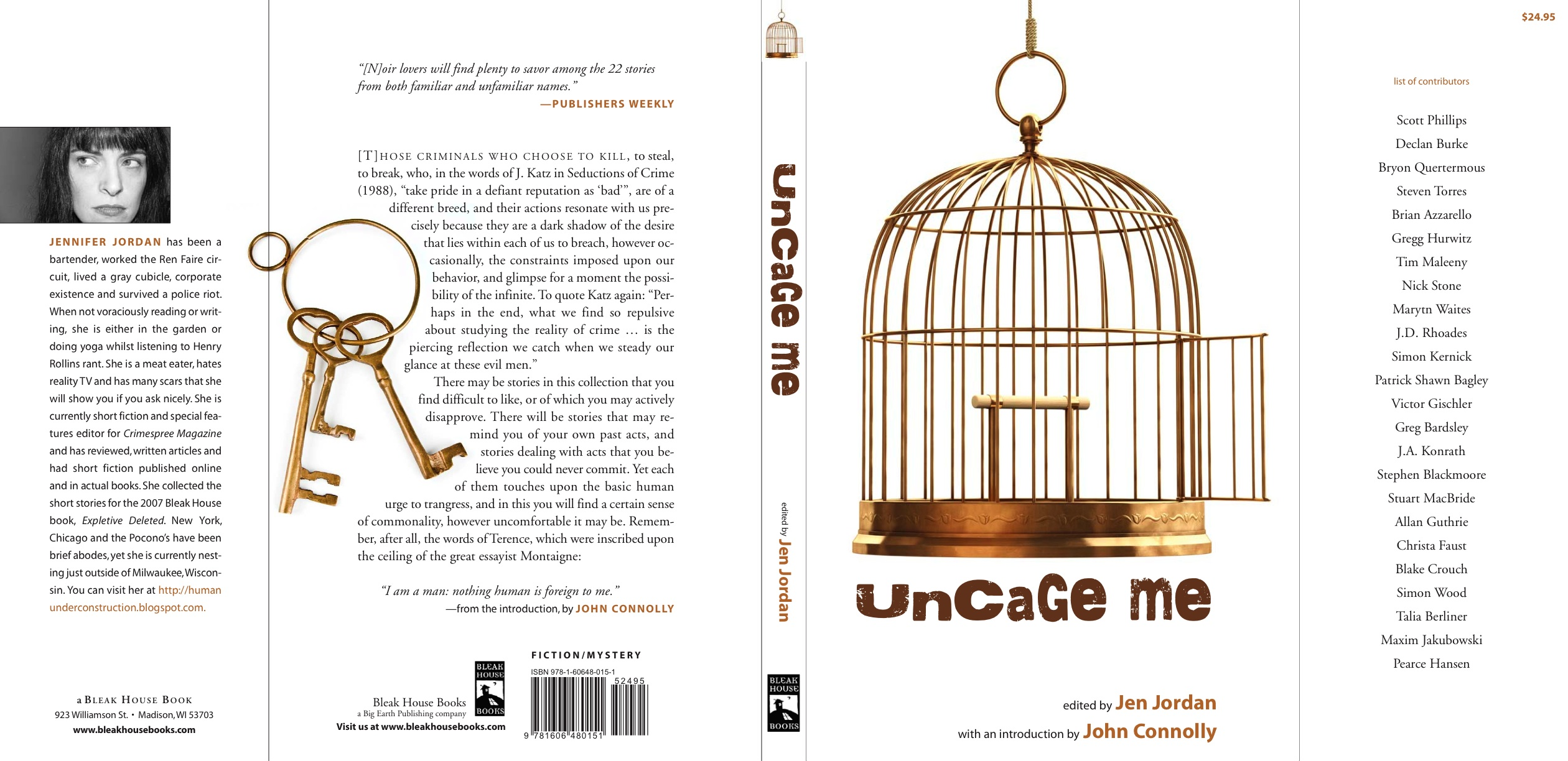 UncageMe hardcover_BleakHouse