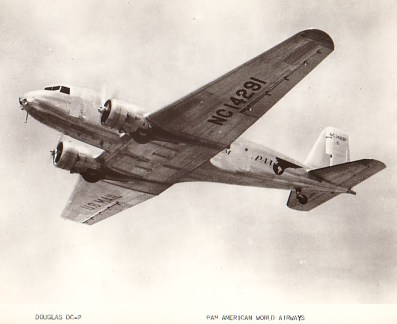 A Pan Am DC-2