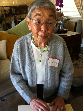 The always delightful Francis Lee Tong, who in 1943 became CNAC's first stewardess on the Hump.
