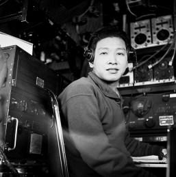 One of CNAC's radio operators
