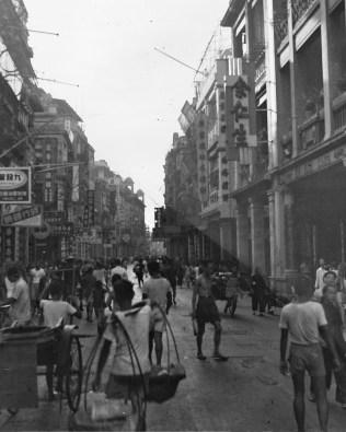 Chinese street scene, late 1940s