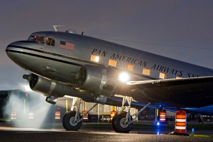 HFF DC-3 Night Engine Start - Credit to James Polivka - 800