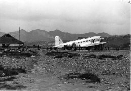 DC-2 on Sanhupa Airstrip in Chungking, 1938