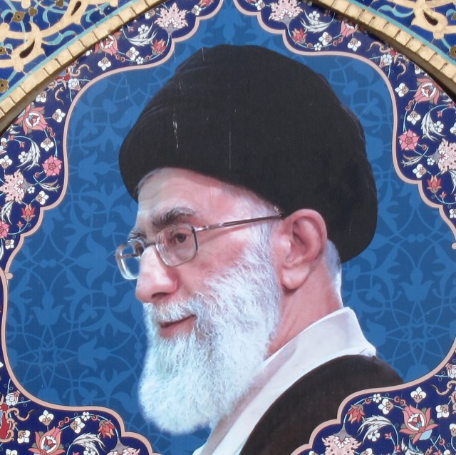 Khameni close up