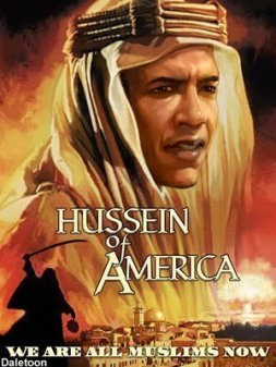 Obama all muslims now