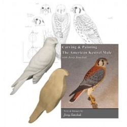 Kits, Bird Carving Jerry Simchuk Complete Kits W/Cut-out