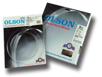 "Olson 56 1/8"" and 67 1/2"" Bandsaw Blades"