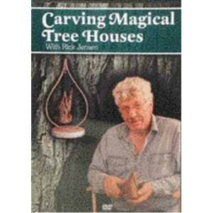 DVD - Carving Magical Tree House with Rick Jensen-