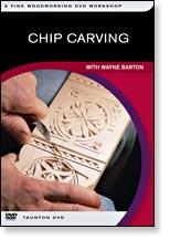 DVD - Chip Carving, by Wayne Barton