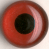 Tohickon Glass Eyes Off-Wire #112 - 10mm Dk. Red M/P