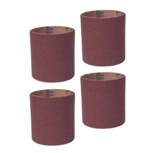 Guinevere - Sanding Sleeves - Coarse-80 grit Long Drum 4 ps. #11353