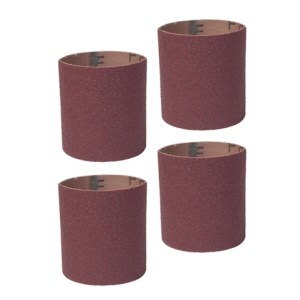 """Guinevere - 4 Small Drum Sanding Sleeves, Coarse-80 grit 3/4"""" #11363"""