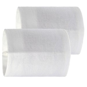 """Guinevere Cloth Drum Sleeves  2""""L X 2""""dia 50 x 50mm"""