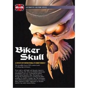 DVD - Biker Skull by Robert Benedict