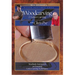 DVD - Chris Pye  Woodcarving #2 - Letter Carving