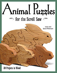 Animal Puzzles for the Scroll Saw: 30 Projects in Wood