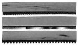Graining comb, THREE COMB SET