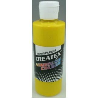 Createx Airbrush Transparent Brite Yellow 4 0z.