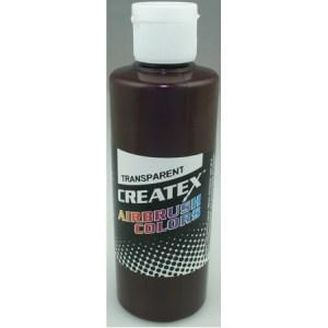 Createx Airbrush Transparent Dark Brown 4 0z.