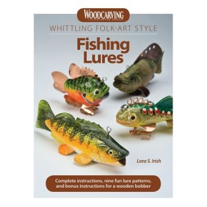 Whittling Folk-Art Style Fishing Lures (printed)