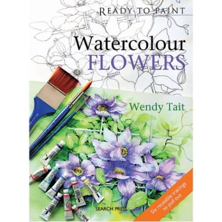 Ready to Paint - Watercolour Flowers
