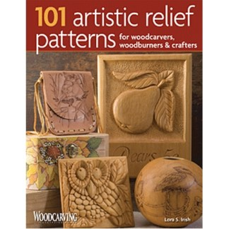 101 Artistic Relief Patterns for Woodcarvers, Woodburners & Craf