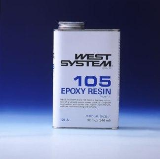 105-A Epoxy Resin QT.