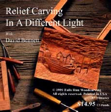 DVD - David Bennett Relief Carving in A Different Light
