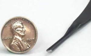 FR803 45 deg. x1mm (micro) Parting Tool