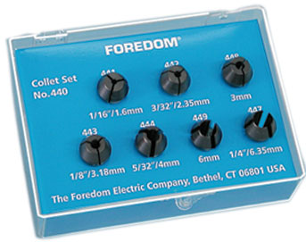 Foredom-440 Collet Set