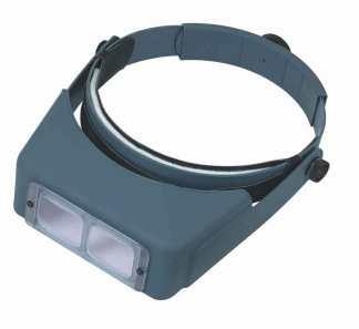 OptiVISOR LX LX-3 1.75x Power at 14 InchesOptical plastic prismatic lenses