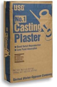 U.S.Gypsum #1 CASTING PLASTER 50 lbs.