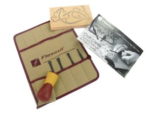 Flexcut SK106 5-Piece Craft Gouge Set Kit