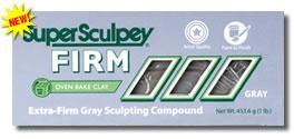 Clay, Super Sculpey FIRM