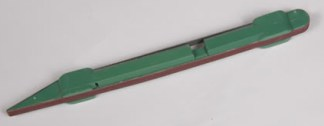 """Detail Stick 1/4"""" 120 Grit Red"""