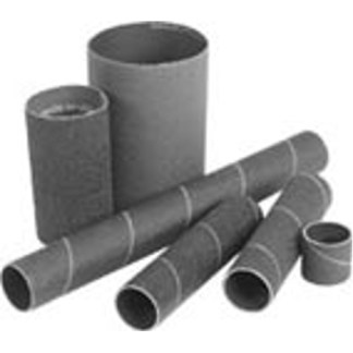 "Sanding Drum Sleeves  3"" Dia. x 3"" Length 50-80-100 Grit CoarsePackage of 6"