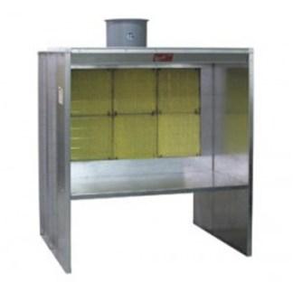 Paasche - 5' Shelf Type Spray Booth FABSF-5-T3