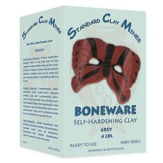 Boneware Self-Hardening Clay - Grey - 4 lbs.