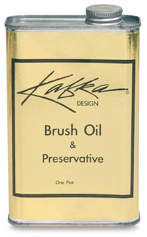 Kafka Design Brush Oil, pint can