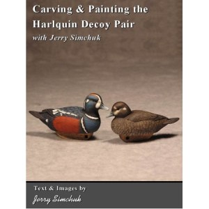 Carving & Painting the Harlequin Decoy Pair