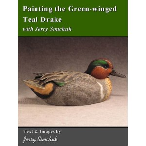 Painting the Green-Winged Teal Drake
